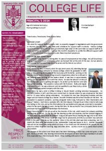 thumbnail of Newsletter No 10 2019